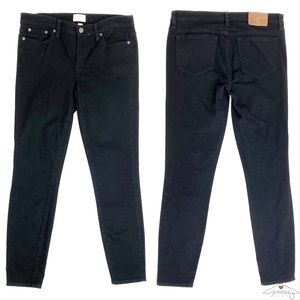 🛍J. Crew Toothpick Jeans NWOT in True Black